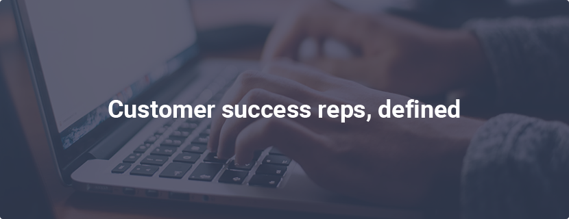 What are Customer Success Reps
